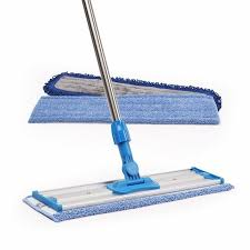 "Microfiber Mop with 18"" Stainless Steel Handle"