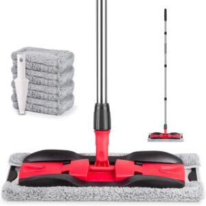 MEXERRIS Microfiber Floor Mop for Hardwood Cleaning