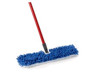 Dual-Action Microfiber Mop