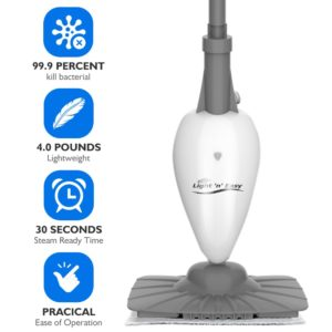 light and easy Polisher Steam Cleaner