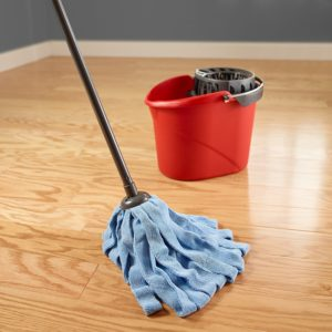 O-Cedar Microfiber mop for laminate floor