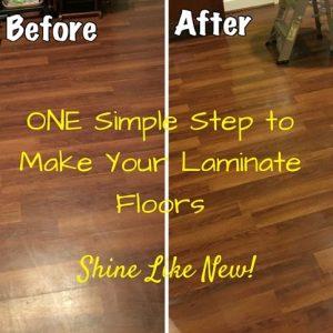 Best way to clean laminate floor