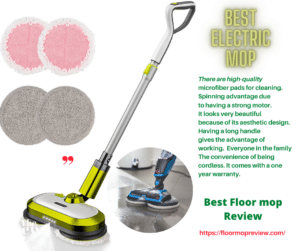 Best Electric Floor Mop