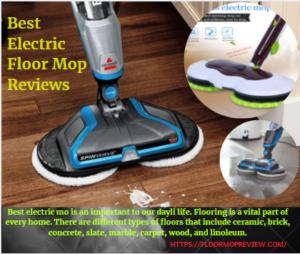 Best Electric Floor Mop
