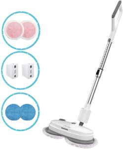 iNeibo Cordless Electric Mop for Hardwood Tile Marble