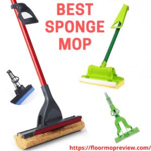 Best Sponge Floor Mop